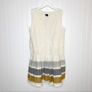 GAP Girls Patterned Sleeveless Dress Size Large 10
